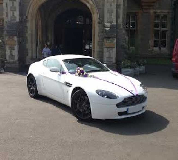 Aston Martin Vantage Hire  in Newport