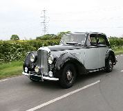 Bentley MK VI Hire in Newport