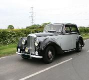 Bentley MK VI Hire in Newport