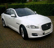 Jaguar XJL in Newport