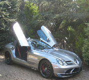 Mercedes Mclaren SLR Hire in Newport