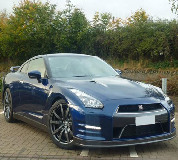 Nissan GTR in Newport