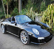 Porsche Carrera S Convertible Hire in Newport