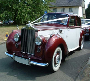 Regal Lady - Rolls Royce Silver Dawn Hire in Newport