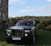 Rolls Royce Phantom - Black Hire in Newport