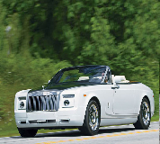 Rolls Royce Phantom Drophead Coupe Hire in Newport