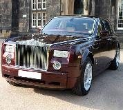 Rolls Royce Phantom - Royal Burgundy Hire in Newport