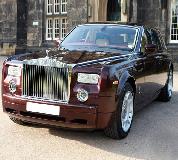 Rolls Royce Phantom - Royal Burgundy Hire in Gwent