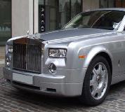 Rolls Royce Phantom - Silver Hire in Newport