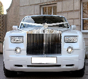 Rolls Royce Phantom - White hire  in Newport