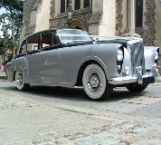 Silver Lady - Bentley Hire in Newport