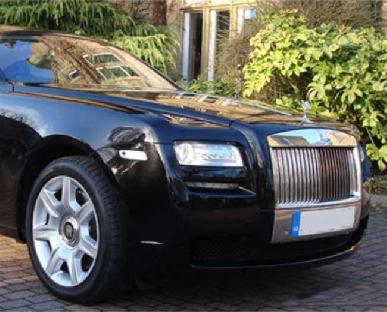 Rolls Royce Ghost - Black Hire